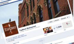 TapRoot Restaurant on Facebook