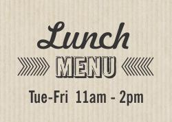 Click to view and print the current TapRoot Lunch Menu