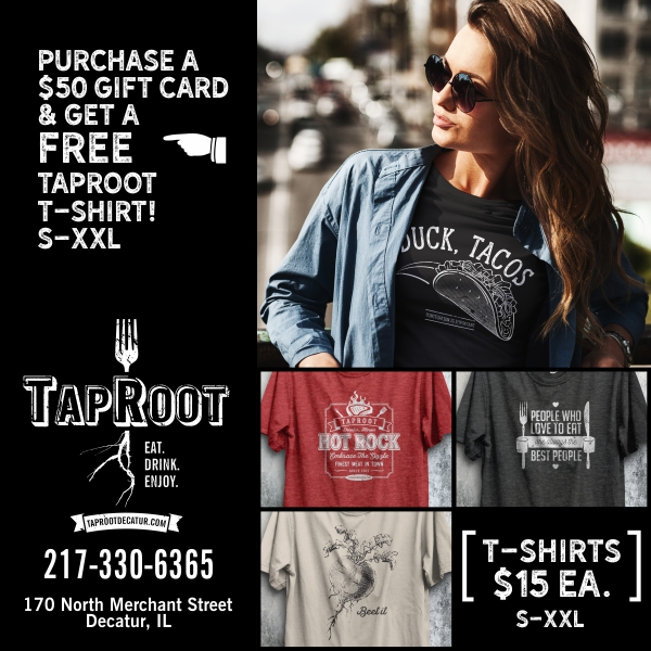 TapRoot T-Shirts $15ea. S-XXL